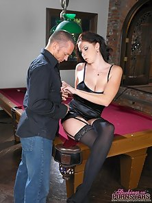 Gianna Michaels fucking in black stockings