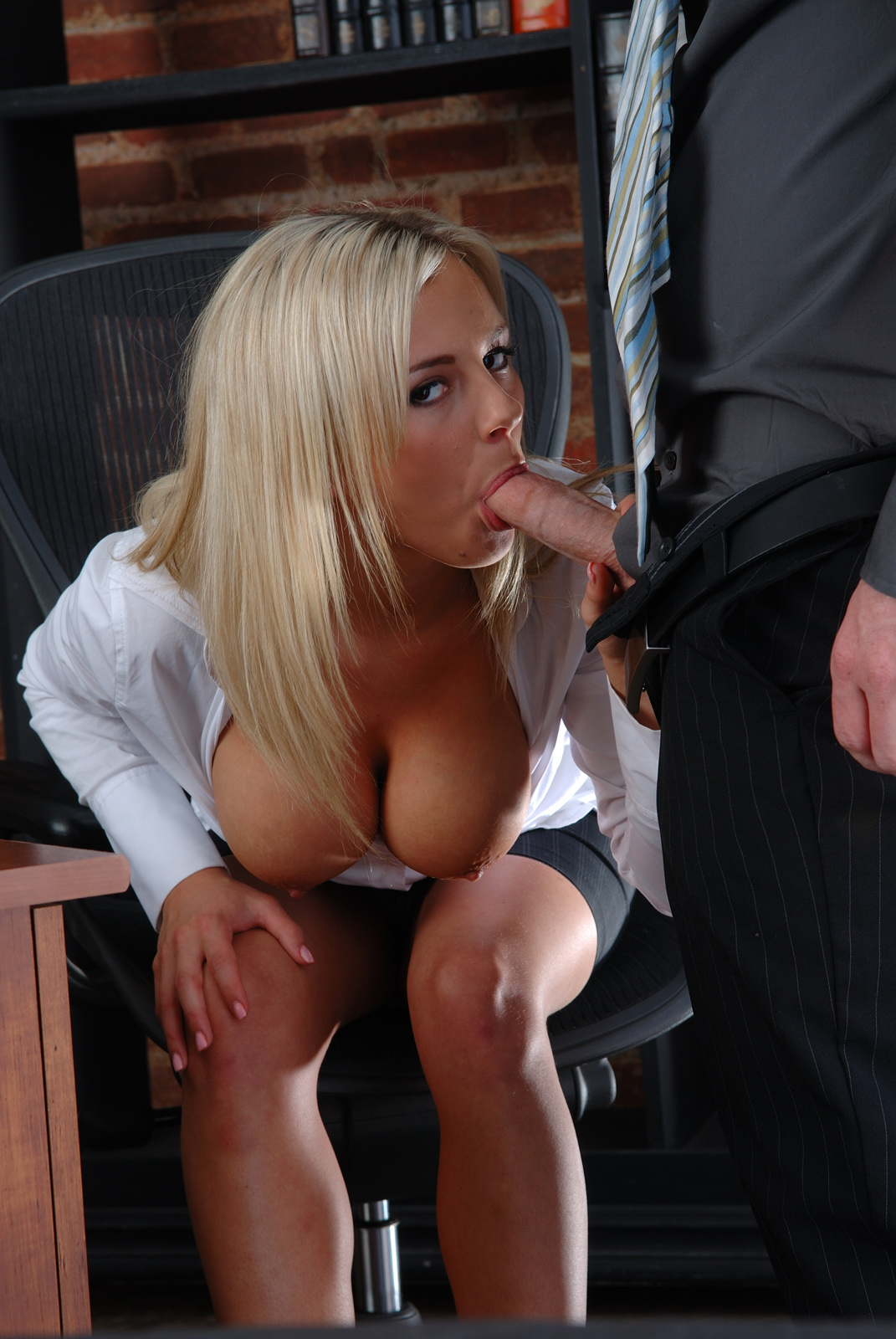 Sucking cock at work opinion
