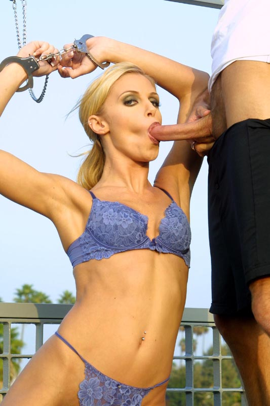 Tawny Roberts bounces her hot ass on this hard prick