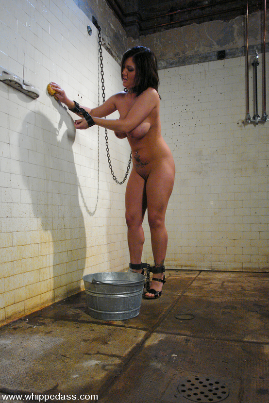... busty woman in prison with lesbian officer. ...