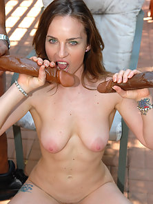 Pretty Pussykat was poolside craving a cunt full of hard cock.