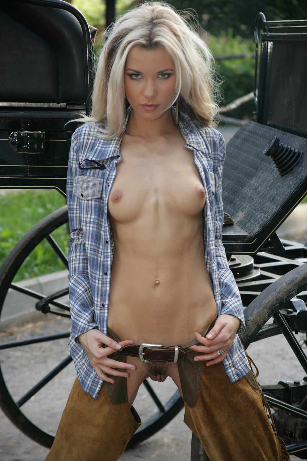 Cowgirls naked in a group assured