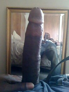 showing off my dick