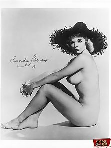 Topless dancer Candy Barr showing her fine natural body