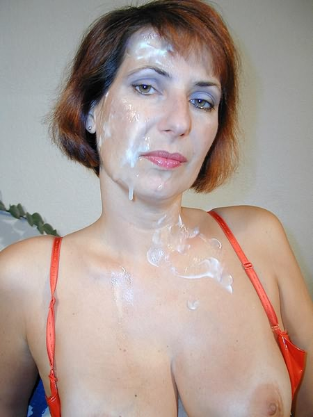 Mature Redhead Getting Her Face Wet With Cum - Mobile Porn -9095