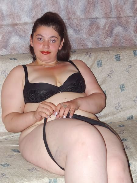 Cute Dark Haired Teen Chubby Undressing On A Sofa - Mobile -4997