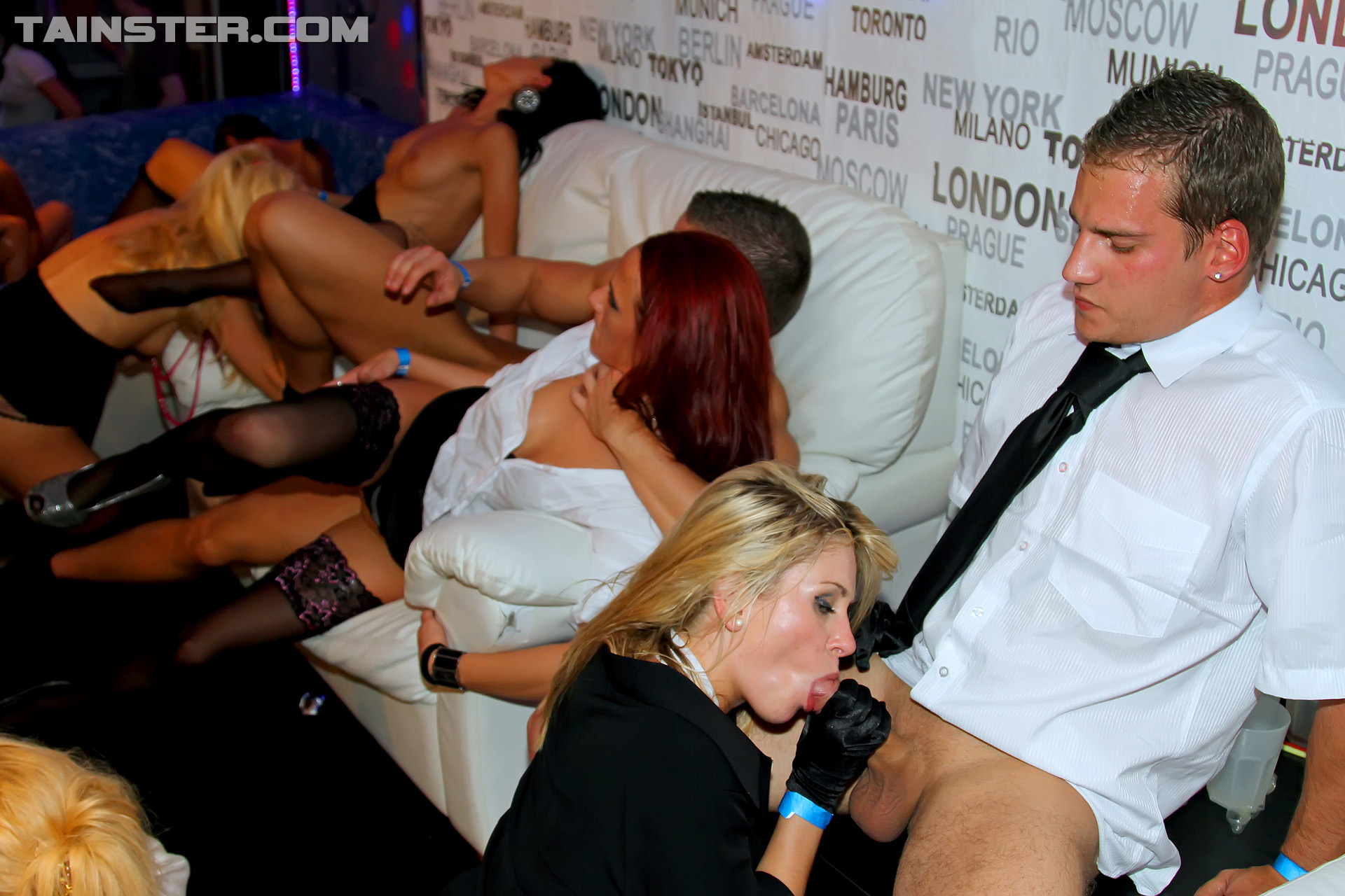 Not Drunk sex orgy from prague with