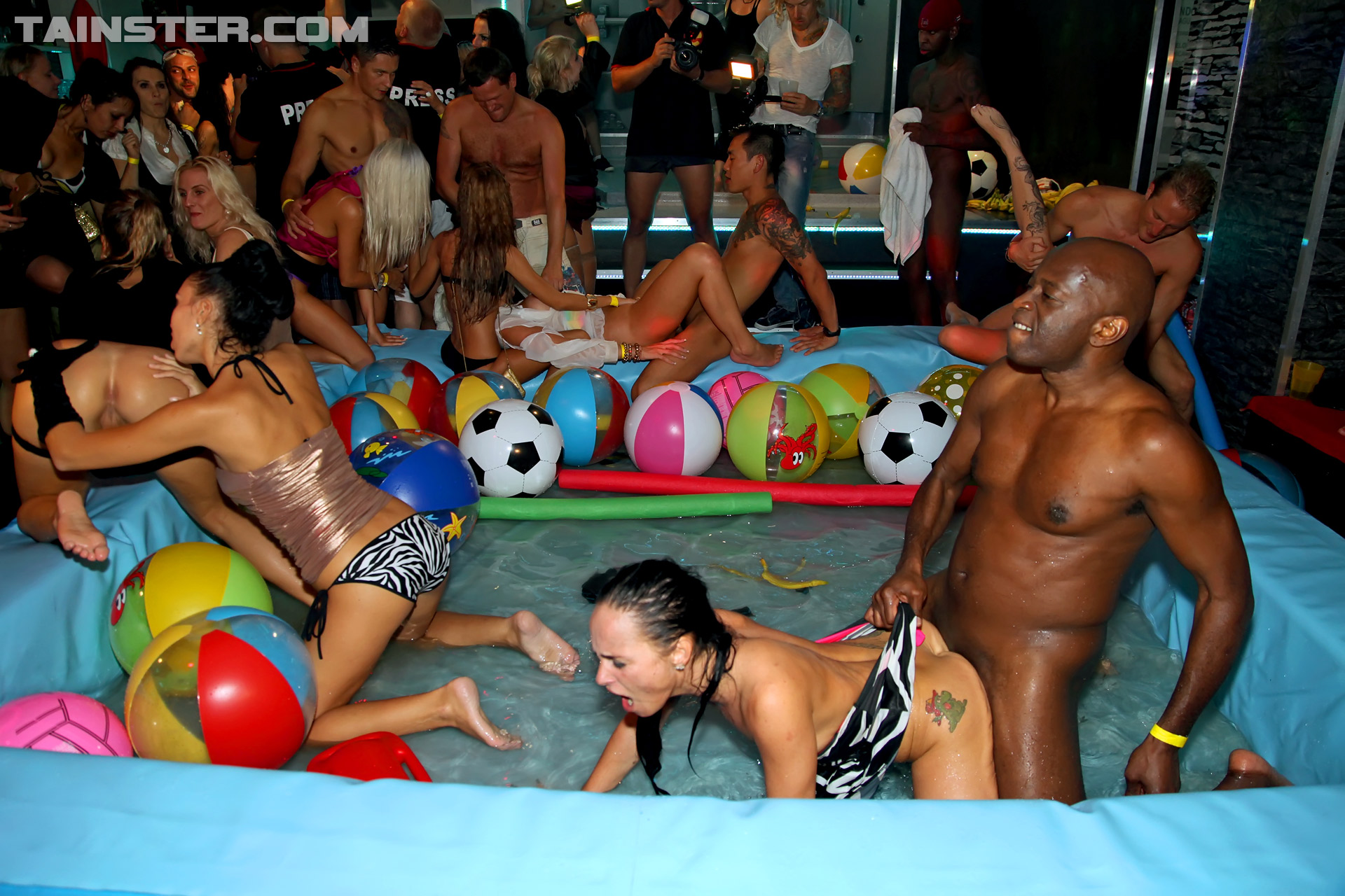 Sexy orgy parties