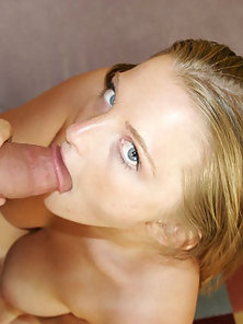 Busty Coed Experiencing Giant Cock
