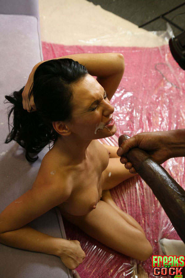 Naked blow job in car