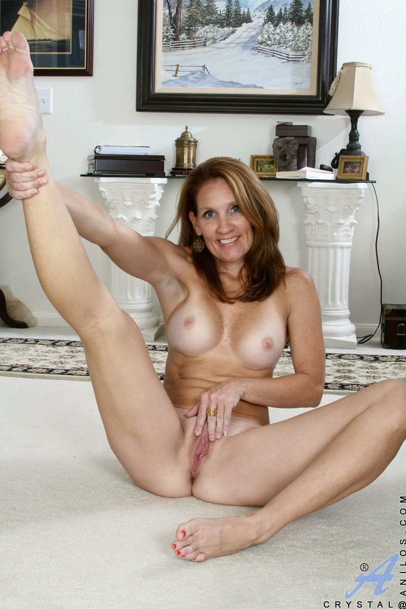 Naked mature woman being penetrated