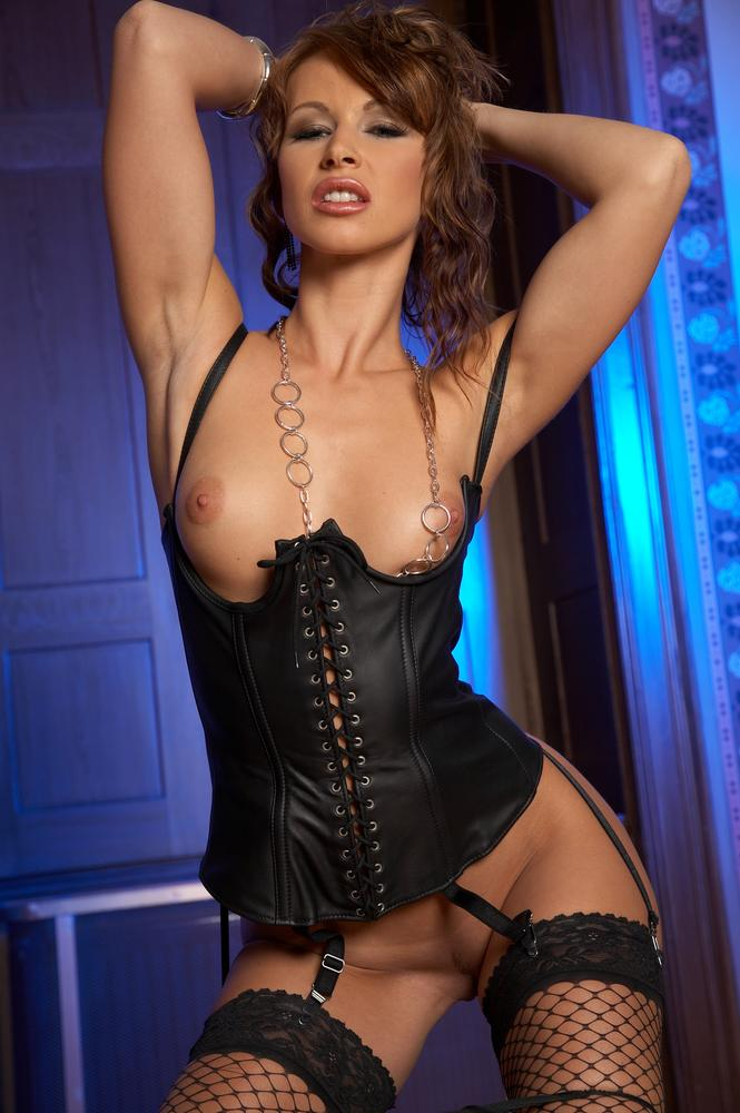 Leather corset porn gallery