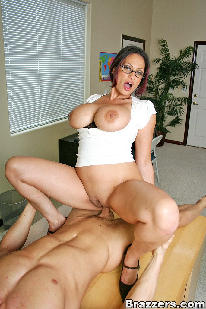 Watch horny milf with big tits
