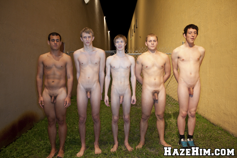 Naked gay college boys