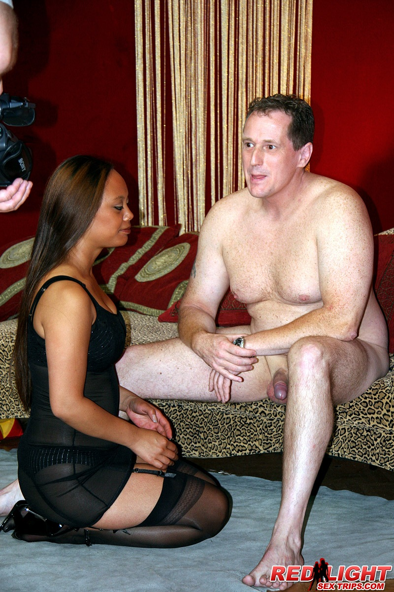 ... Asian hooker gets dirty with a Danish tourist his stiff cock ...