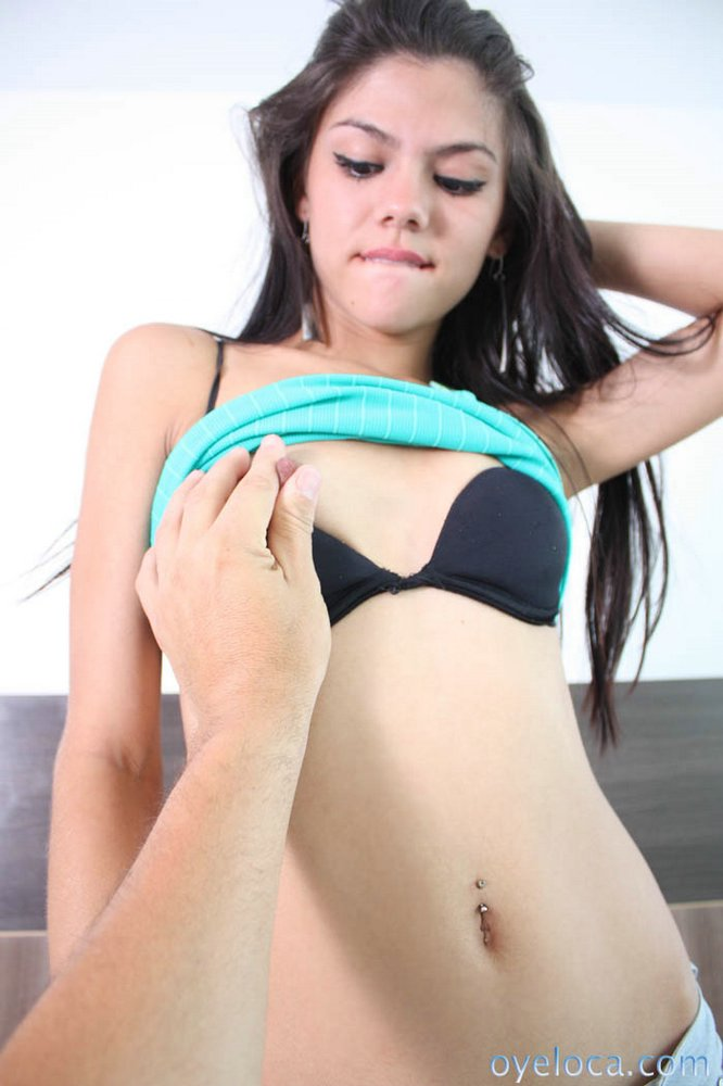 Skinny Latina Teen Homemade