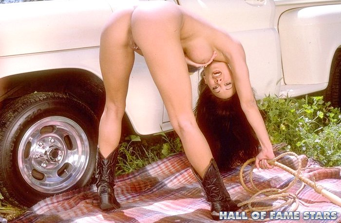 Asia Carrera Stripping Naked And Posing Outdoors - Mobile -1380