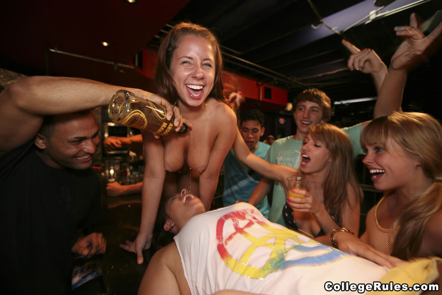 College Sex After Party