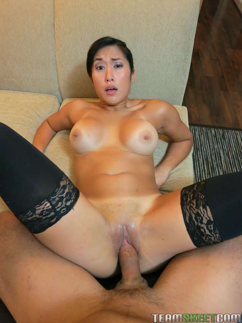 Sexy Asian Getting Fucked Hard!