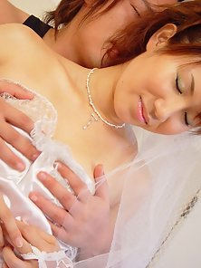 Cute Japanese teen in cosplay sex