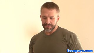 hunk dilf assfucked by young top hunk
