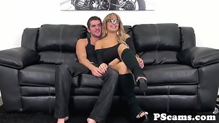 Bigtitted webcam honey Alyssa Lynn titfucked
