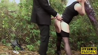 outdoor facefucked brit submissive cumswallowing